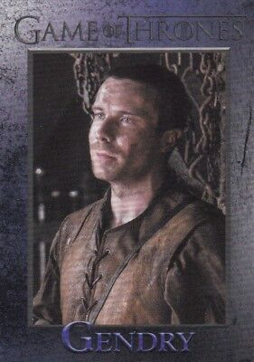 2018 Season 7 Game Of Thrones Gendry Trading Card #41
