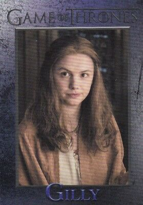 2018 Season 7 Game Of Thrones Gilly Trading Card #40