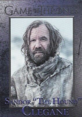 "2018 Season 7 Game Of Thrones Sandor ""the Hound"" Clegane Trading Card #43"