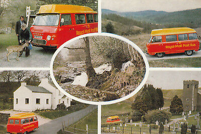 (14034) Postcard Royal Mail Postbus Grizedale Forest