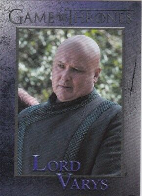 2018 Season 7 Game Of Thrones Lord Varys Trading Card #36