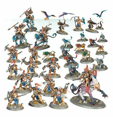 Games Workhsop Warhammer Age of Sigmar Battleforce Vangaurd Brotherhood GWS71-62
