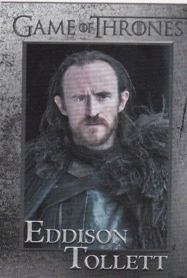 2018 Season 7 Game Of Thrones Lord Eddison Tollett Trading Card #55