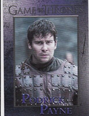 2018 Season 7 Game Of Thrones Lord Podrick Payne Trading Card #56