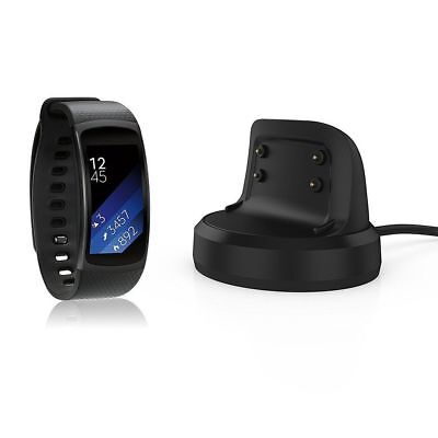 For Samsung Gear Fit 2 SM-R360 Magnetic USB Charger Dock Charging Cradle Station