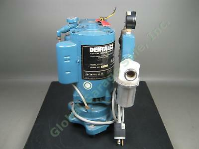DentalEz CV 101 Custom Air 1HP 230V Single Water Ring Dental Vacuum Pump Works!