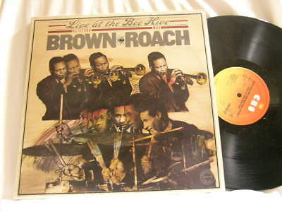 CLIFFORD BROWN & MAX ROACH Live at the Bee Hive SONNY ROLLINS Nicky Hill 2 LP