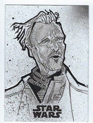 2018 Star Wars Solo sketch card Bommer