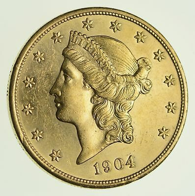 1904 $20.00 Liberty Head Gold Double Eagle - PROOF LIKE *9705