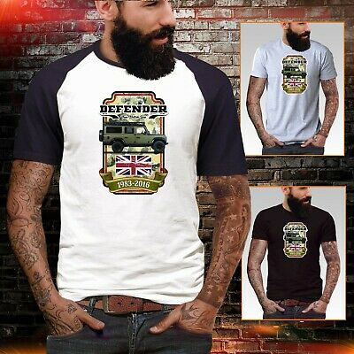 Land Rover Defender t shirt Army Military 90 110 V8 Mens top Petrol head retro