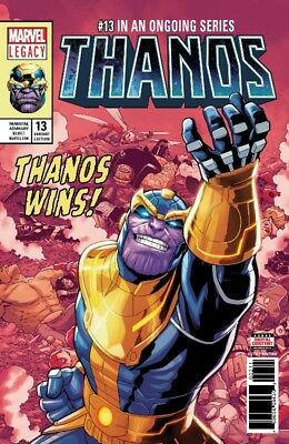 Thanos #13 5Th Printing Shaw Variant Marvel Legacy Donny Cates Guardians 52318
