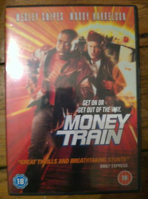 WESLEY SNIPES WOODY HARRELSON SOLDI TRENO ~1995 Action Commedia UK DVD