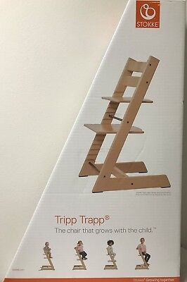 Merveilleux Stokke Tripp Trapp Baby Adjustable Wood High Chair Highchair 5 Colors  Choice NEW