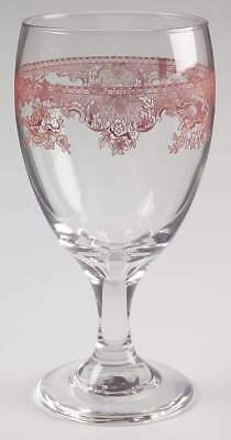 Johnson Brothers OLD BRITAIN CASTLES PINK 16 Oz Iced Tea Glass 6263568