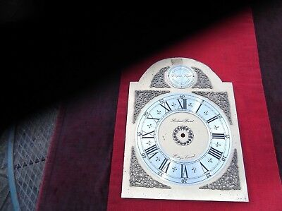 Vintage Brass Clock Face/mantel Clock/bracket Clock/antique Cornwall Clock