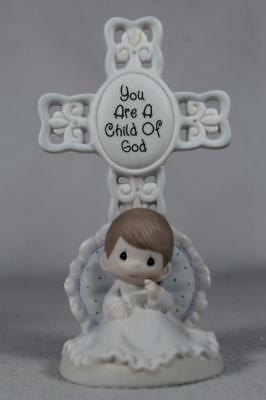 Precious Moments-'You Are A Child Of God' Boy Can Personalize #4004880 NIB