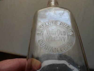 Very Old Whisky / Absolute Purity Guaranteed -- Bottom Marked L.C & R. Co.