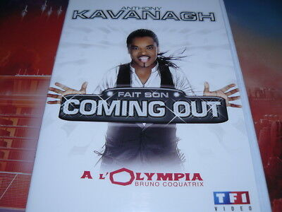 dvd neuf anthony kavanagh fait son coming out à l'olympia en spectacle