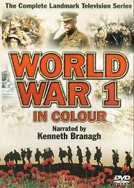 World War 1 In Colour - Complete TV Series [DVD], DVD | 5030697007094 | Acceptab