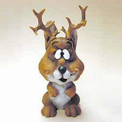 "Whimsical 3"" Bobblehead Jackalope""~New~Mib~Great Gift!!!"