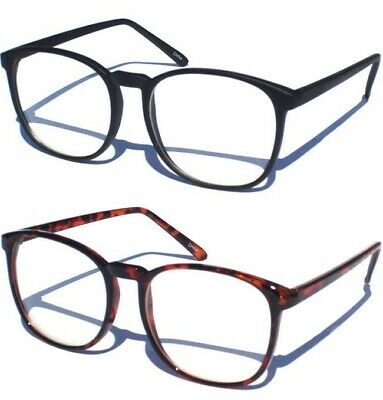 CLEAR LENS GLASSES RETRO HIPSTER SMART FASHION Thin Sexy Nerd Geek Choose Frame