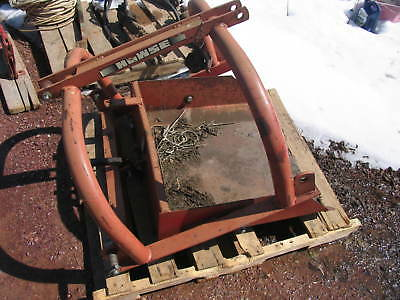 Howse 3-Pt. Reversible Dirt Scoop Tractor 3 point Hitch John Deere Ford Case