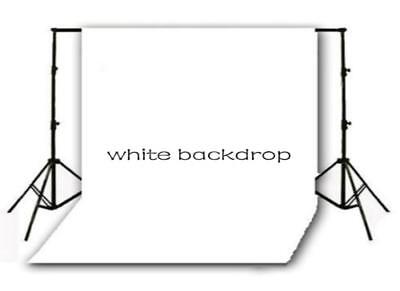 10X10FT Solid White Backdrop Vinyl Photography Photo Studio Props Background