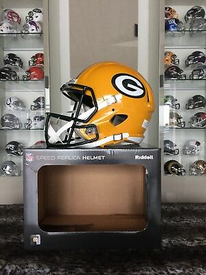 NFL Football Full Size Speed Helm GREEN BAY PACKERS Riddell NEU&OVP