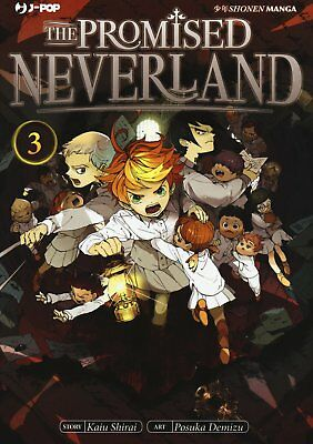 The Promised Neverland N° 3 - Edizioni BD - Jpop - ITALIANO NUOVO #NSF3