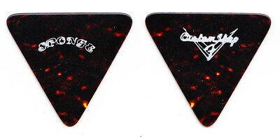 Sponge Fender Custom Shop Triangle Brown Guitar Pick - 1990s Tours