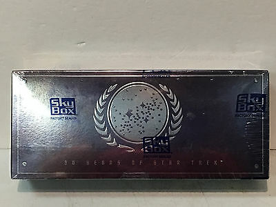 30 Years of Star Trek Reflections of the Future Phase One Collector Cards Sealed