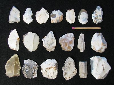 15.000Y.o: 20 Great Artifacts Magdalenian C European Stone Age Paleolithic Flint