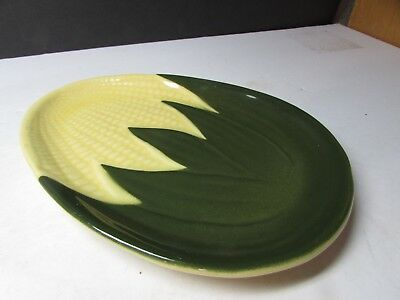 Vintage Shawnee Pottery Corn Pattern Oval Serving Plate