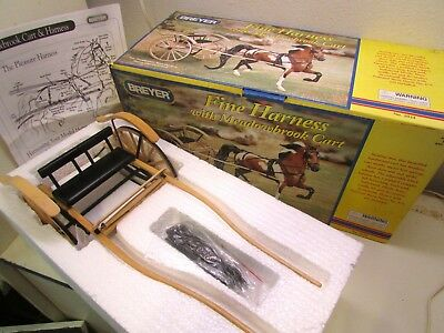 Breyer Fine Harness With Meadowbrook Cart w Original Box Complete w Instructions