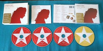 Simply Red - Song Book 1985 2010 Definitive Collection 4x Cd + Book Perfetti