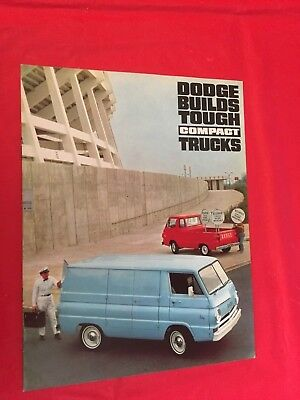 "1966 Dodge ""Compact Trucks"" Truck Dealer Sales Brochure"
