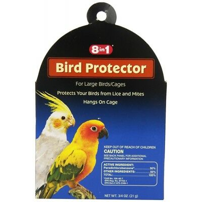 BULK 6 Packs 8 in 1 Bird Protector for Large Birds/Cages (6 x 1 per)