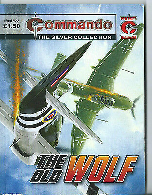 The Old Wolf,commando The Silver Collection,no.4522,war Comic,2012