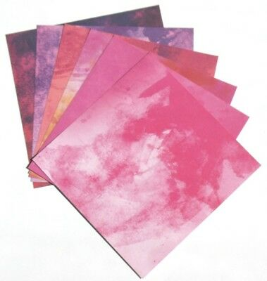 Bright Pink Splash - 6x6 ColorBok Scrapbooking Paper Pack