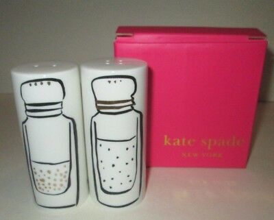 Kate Spade New York Lenox Daisy Place Salt & Pepper Shakers Boxed Set