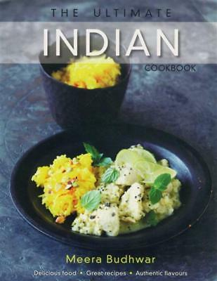 NEW The Ultimate Indian Cookbook By Meera Budhwar Paperback Free Shipping
