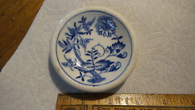 Vintage Restaurant Ware  BUTTER PAT Blue Onion, Burley & Co. Hotel Dept