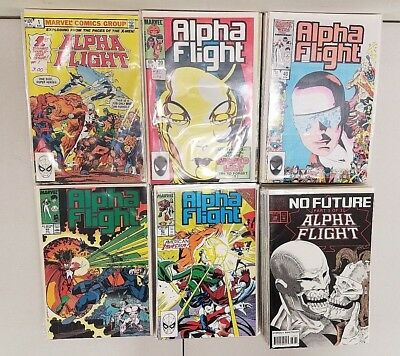 Alpha Flight John Byrne Marvel Comics Vf/nm 1983 1-130 Complete Set