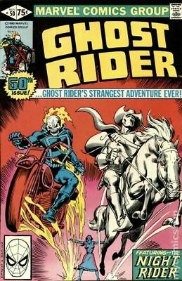 Ghost Rider (1st Series) #50 1980 VG 4.0 Stock Image Low Grade