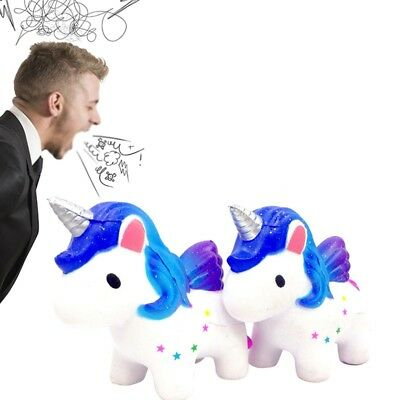 Soft Large Squishy Unicorn Slow Rising Stress Relief Kids Adults Venting Toys