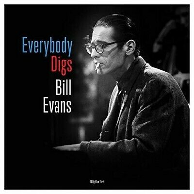 Bill Evans - Everybody Digs [New Vinyl] Blue, Colored Vinyl, 180 Gram, UK - Impo