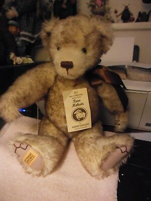 "15"" English Mohair bear by Merrythought  signed & numbered"