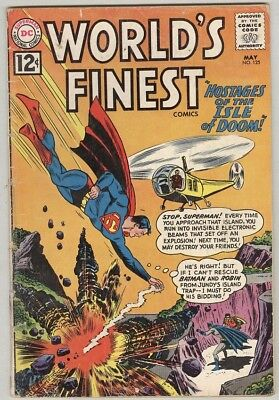 World's Finest #125 May 1962 G-