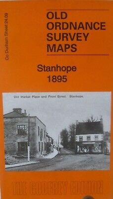 Old Ordnance Survey Map Stanhope Co Durham 1895  Sheet 24.09 New