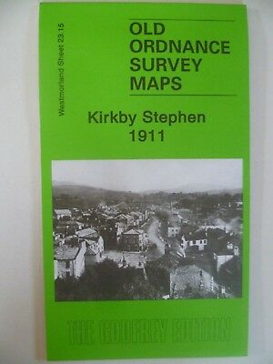 Old Ordnance Survey Detailed Map Kirkby Stephen Westmorland 1911 Sheet 38.04 New